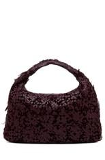 Large Intrecciato Velours Hobo Bag