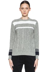 Mouline Wool Pullover