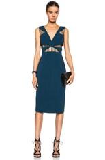 FORWARD EXCLUSIVE Power Viscose-Blend Dress