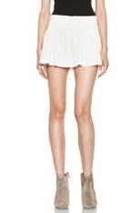 Jules Fluffy Linen Shorts