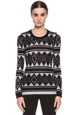 Falk Mohair-Blend Sweater