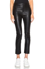 Jeffrey Eco Leather Pants