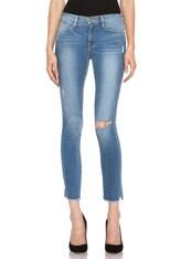 FRAME Le Skinny de Jeanne Crop Split Jean