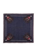 Rottweiler Silk & Wool Scarf
