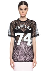 Lace Knit Favelas Tee