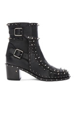 Badely Leather Boots