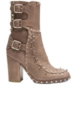 Baulence Calfskin Leather Booties