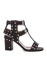 Helie Leather Heels