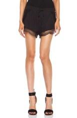 Mystical Silk-Blend Cami Shorts