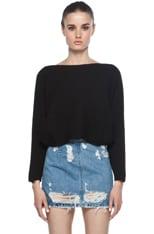 Cropped Dolman Sweater