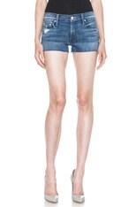Fray Jean Shorts