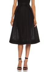 Mesh Ball Skirt
