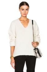 V Neck Wedge Sweater
