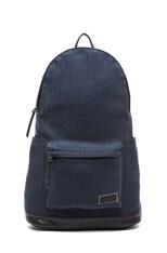 Sashiko Cotton Daypack with Horsehair Straps