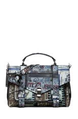 PS1 Medium Gotham Photo Print Satchel