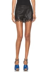 High Clare Leather Short
