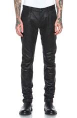 Detroit Cut Leather Pant