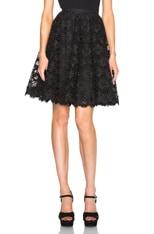 Organza Floral Skirt