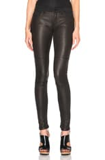 Flash Friend Leather Jeans