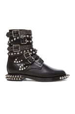 Rangers Double Studded Leather Combat Boots