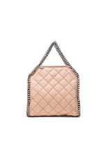 Falabella Quilted Shaggy Deer Tiny Tote