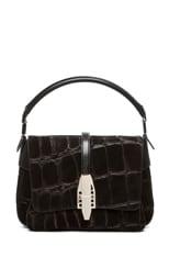 Willa Abuk Embossed Croc Leather Bag