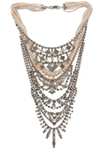Candy Rhodium Tiered Necklace