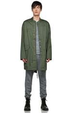 Overdyed Dry Feel Washed Cotton Jacket