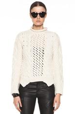 Duo Merino Wool Knit Sweater