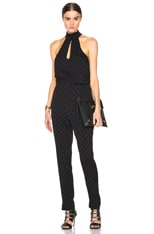 Rhythm Flocked Dot Jumpsuit
