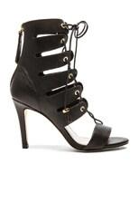 Tassel Hybrid Leather Heels