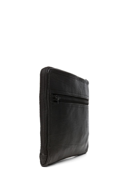 Image 3 of 3.1 phillip lim Multi Zip Exchange Folio in Black