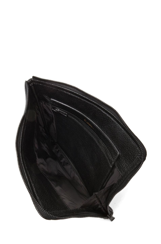 Image 4 of 3.1 phillip lim Multi Zip Exchange Folio in Black