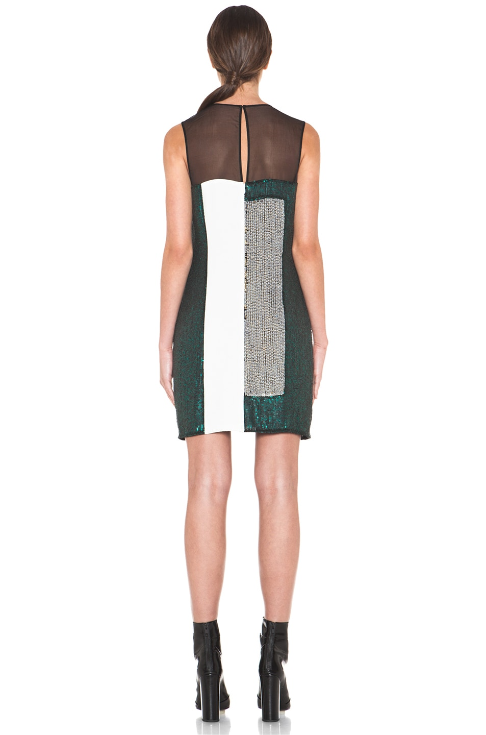 Image 4 of 3.1 phillip lim Collage Dress in Emerald