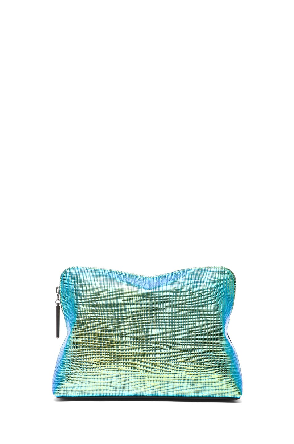 Image 1 of 3.1 phillip lim 31 Minute Cosmetic Bag in Blue-Green & Black