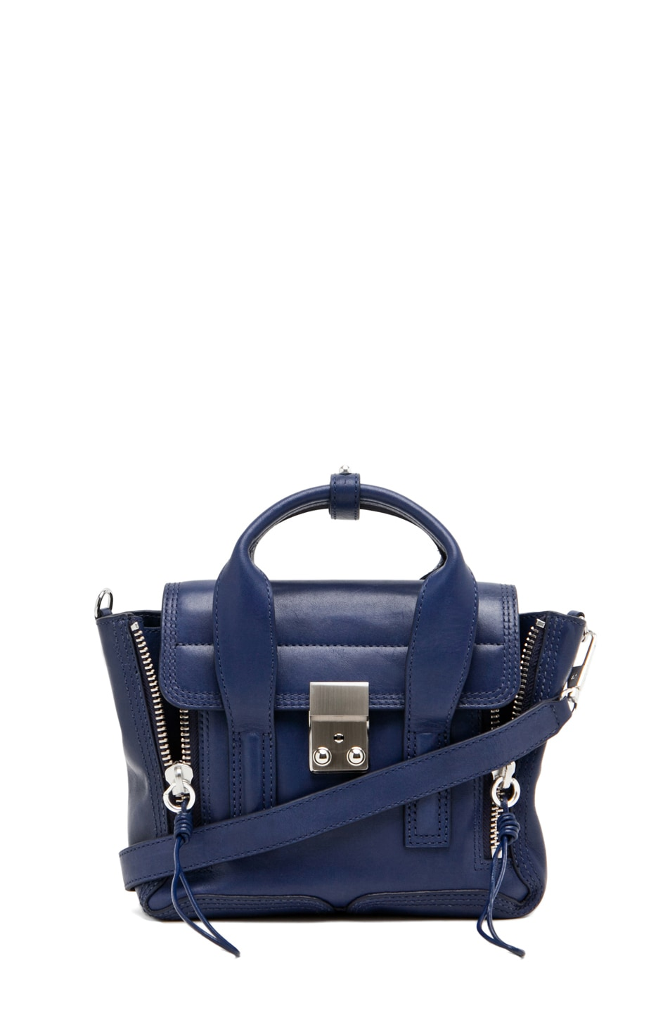 Image 1 of 3.1 phillip lim Pashli Mini Satchel in Navy