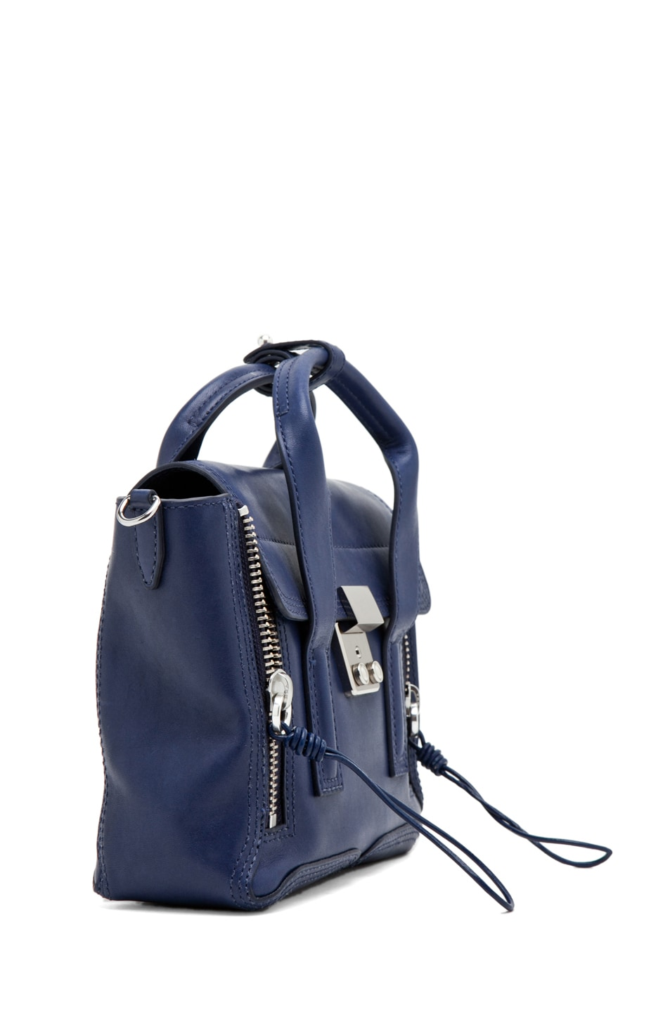 Image 3 of 3.1 phillip lim Pashli Mini Satchel in Navy