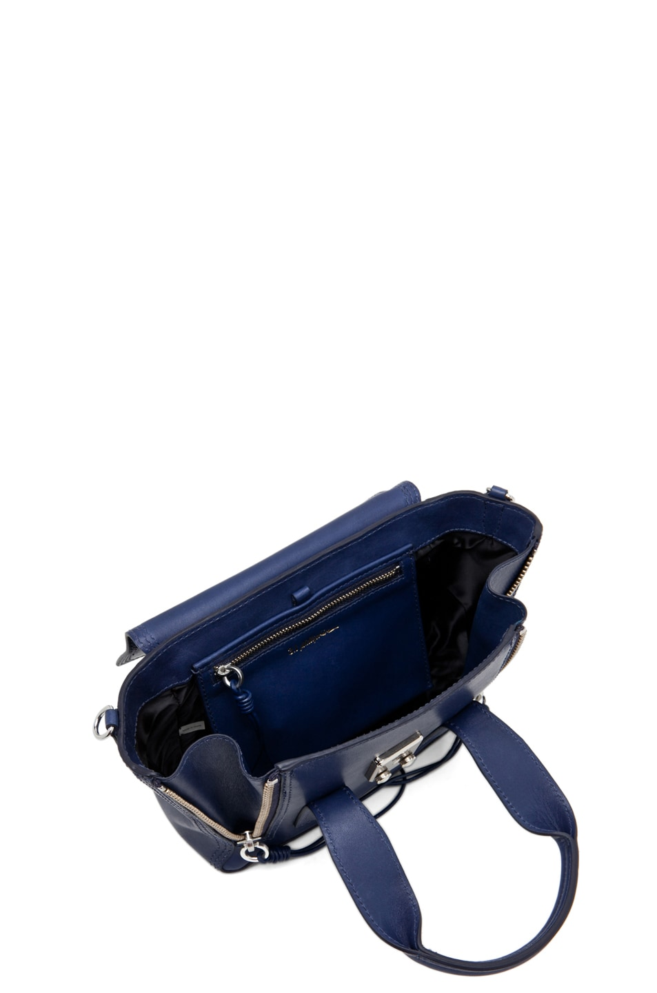 Image 4 of 3.1 phillip lim Pashli Mini Satchel in Navy
