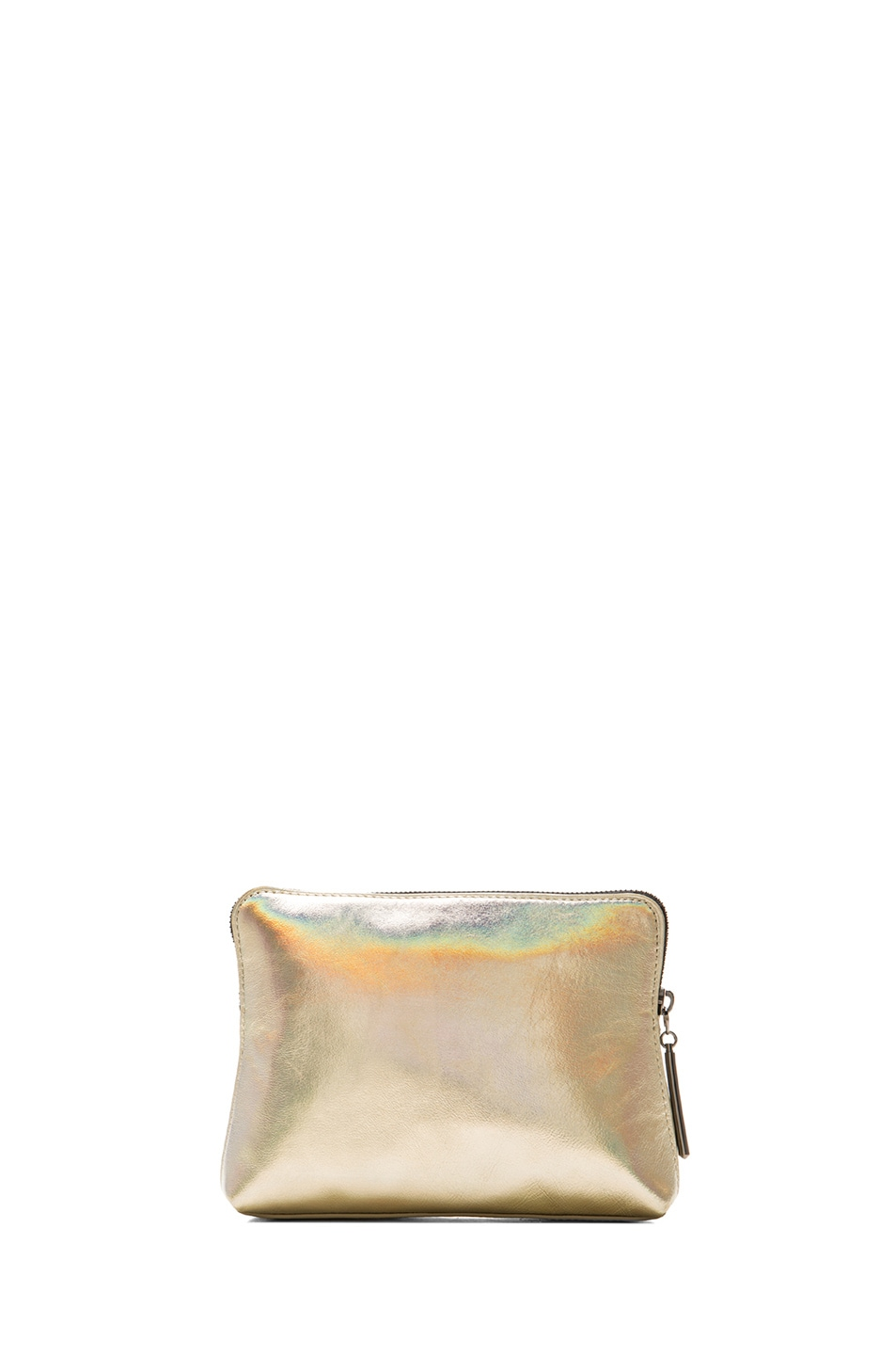 Image 2 of 3.1 phillip lim OMG 31 Second Pouch in Warm Silver & Gunmetal