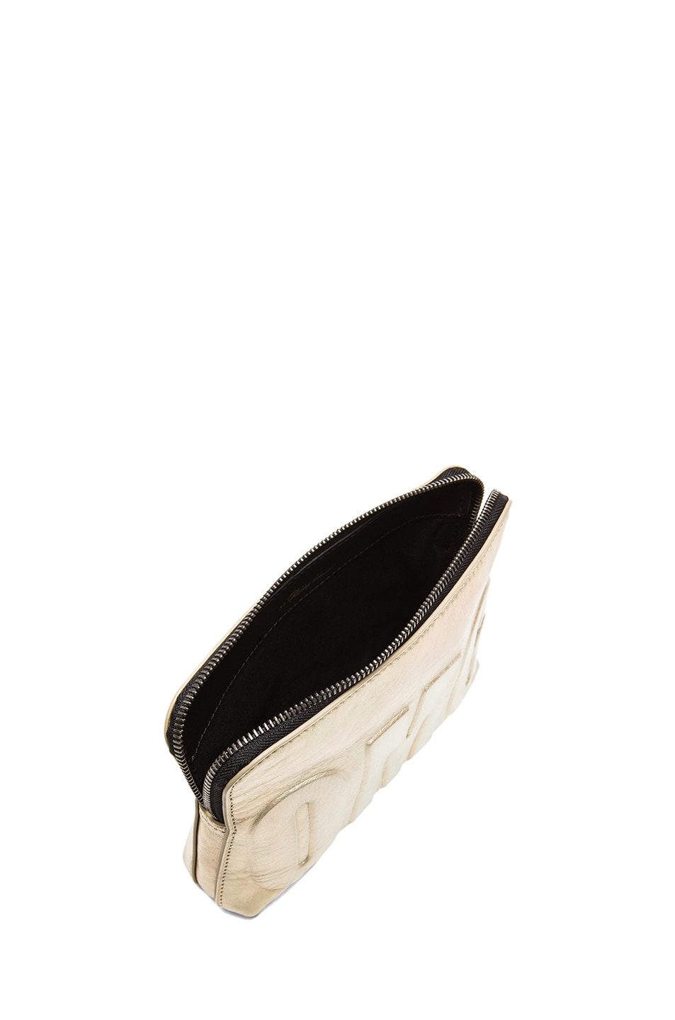 Image 4 of 3.1 phillip lim OMG 31 Second Pouch in Warm Silver & Gunmetal