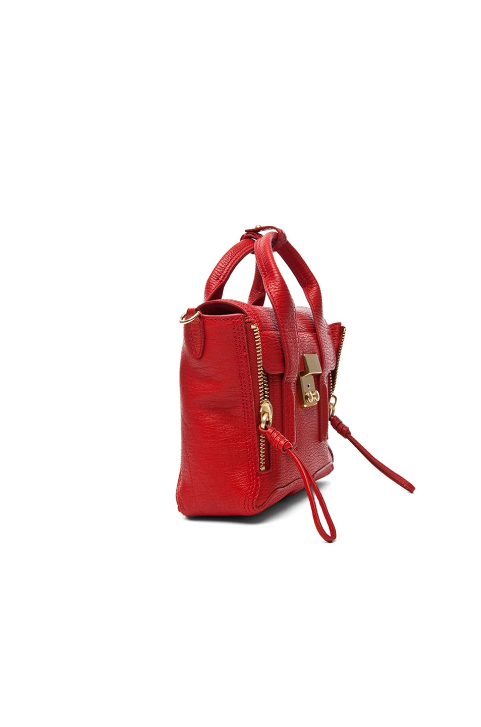 Image 4 of 3.1 phillip lim Mini Pashli Satchel in Red