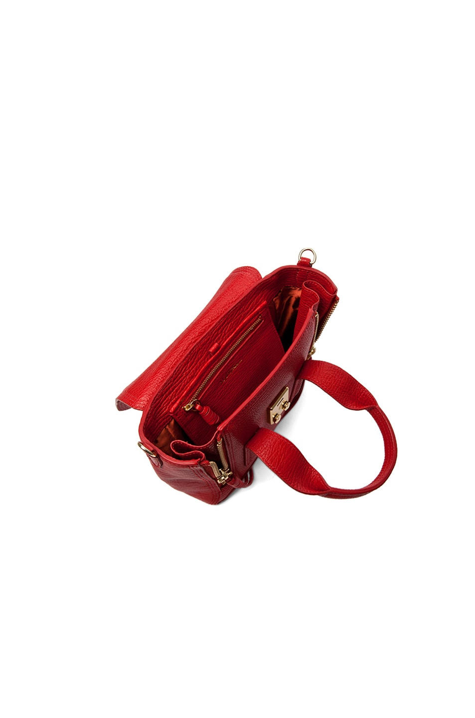 Image 5 of 3.1 phillip lim Mini Pashli Satchel in Red
