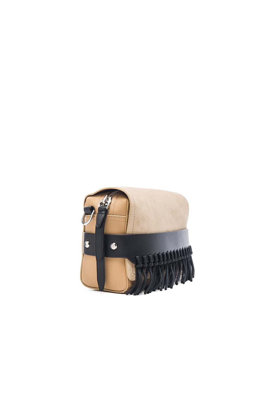 Image 4 of 3.1 phillip lim Bianca Fringe Crossbody Bag in Almond Beige