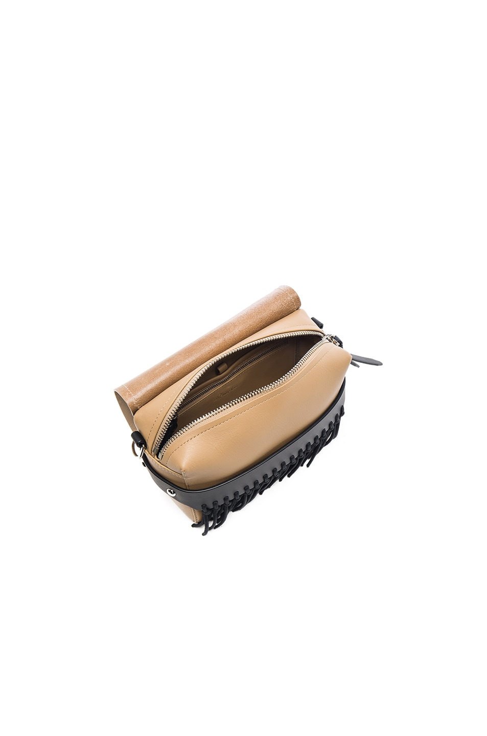 Image 5 of 3.1 phillip lim Bianca Fringe Crossbody Bag in Almond Beige