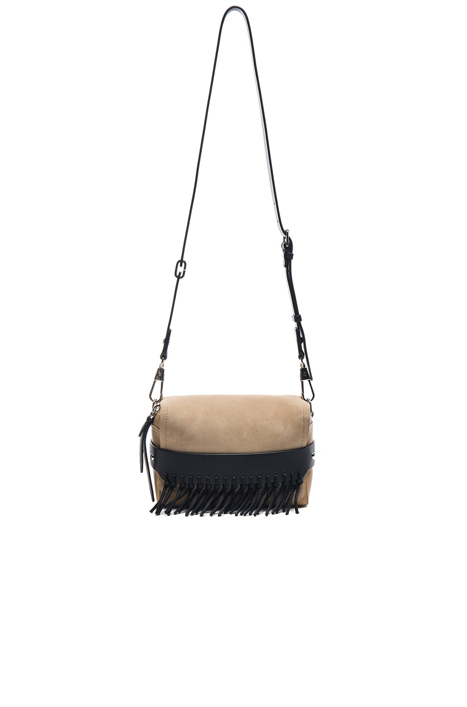 Image 6 of 3.1 phillip lim Bianca Fringe Crossbody Bag in Almond Beige