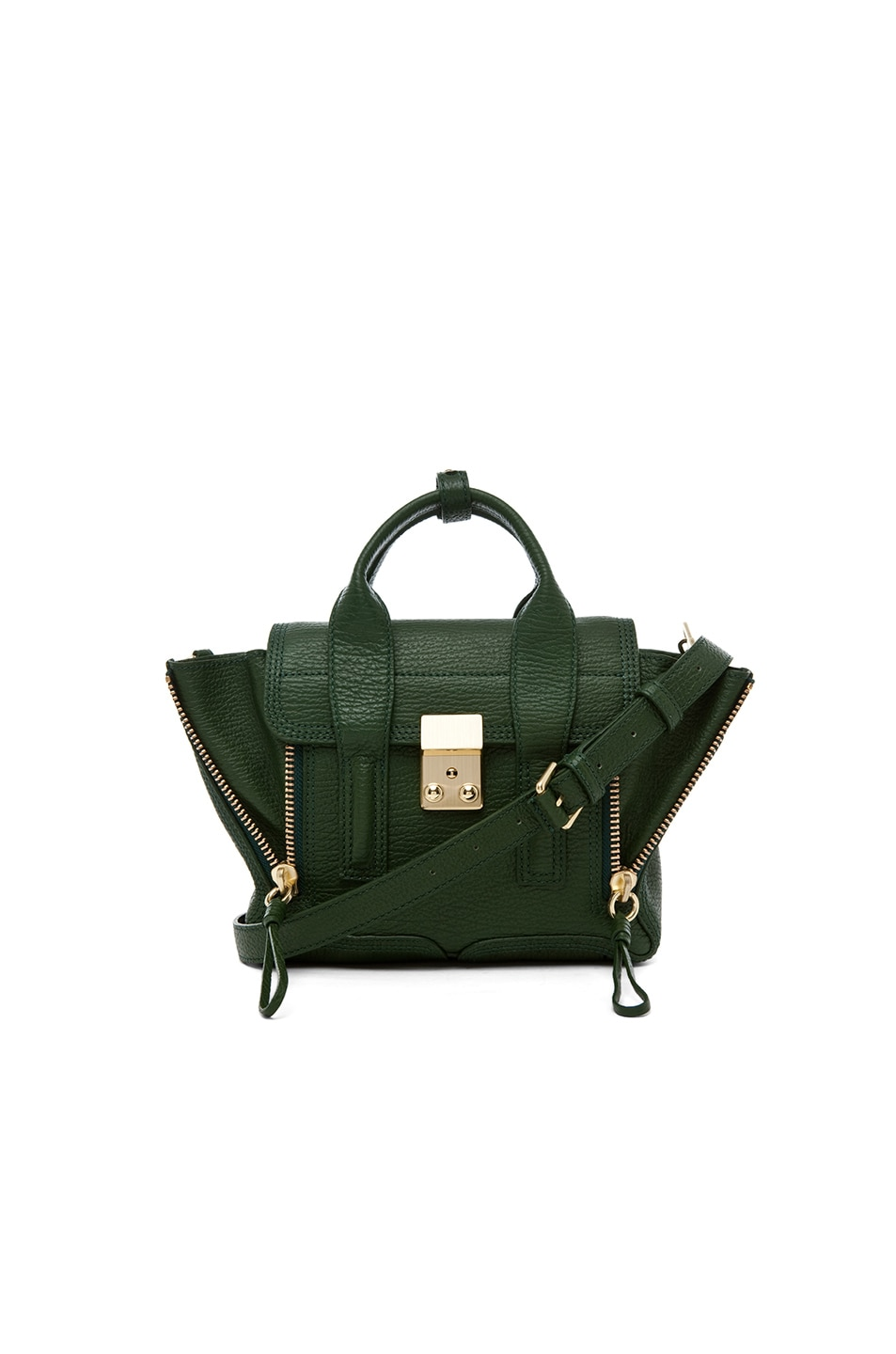 Image 1 of 3.1 phillip lim Mini Pashli Satchel in Jade