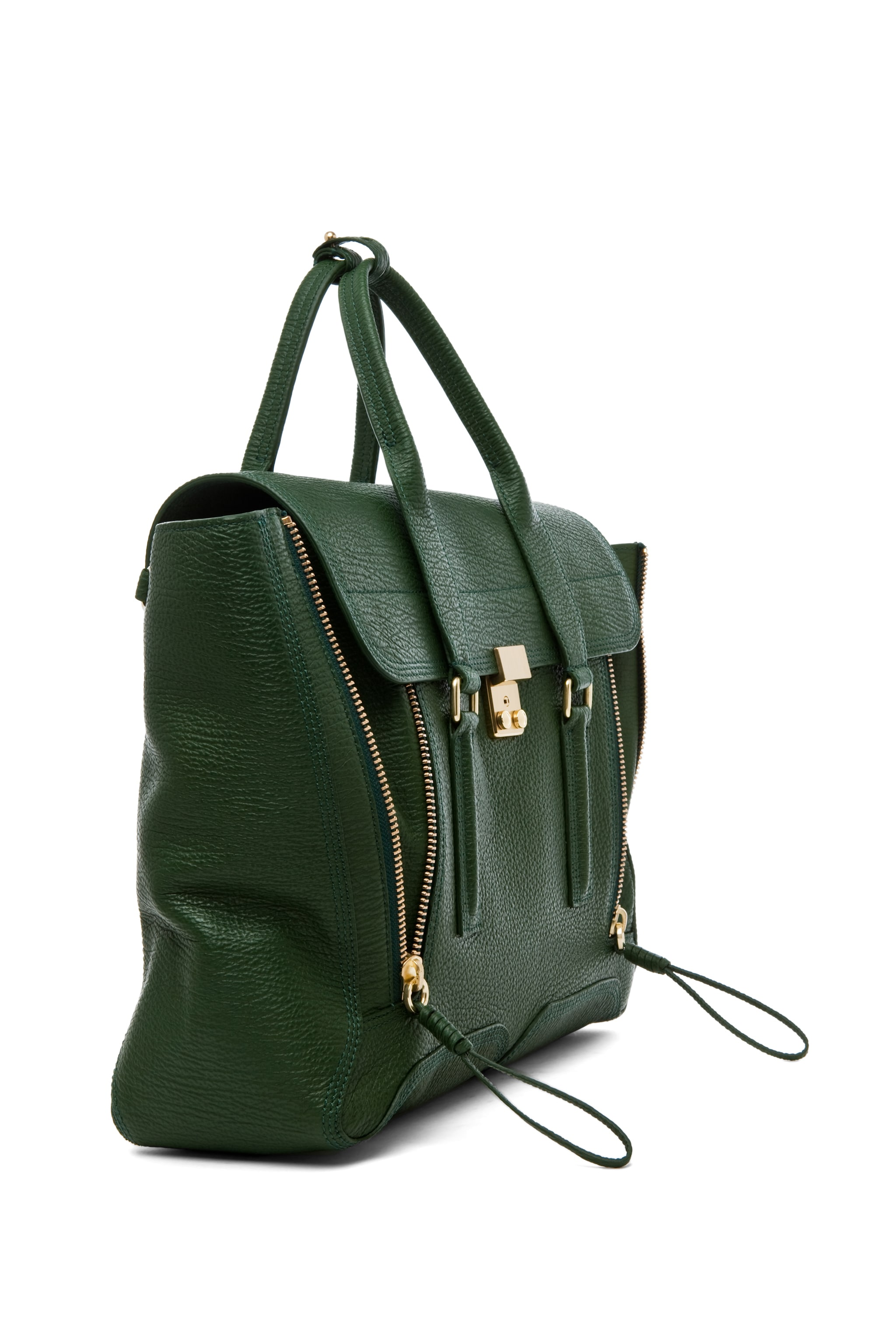 Image 3 of 3.1 phillip lim Large Pashli Trapeze in Jade