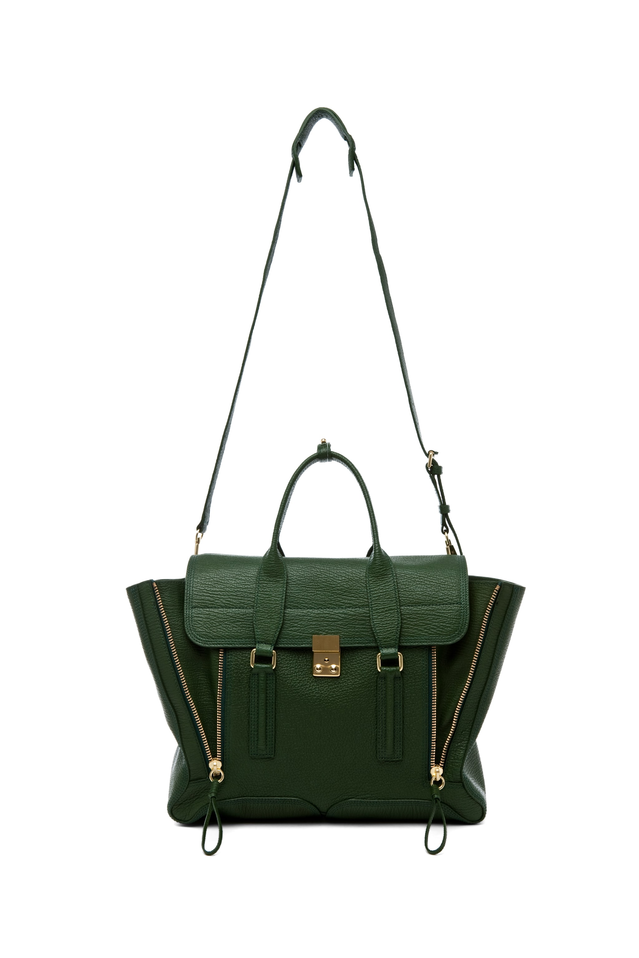 Image 5 of 3.1 phillip lim Large Pashli Trapeze in Jade