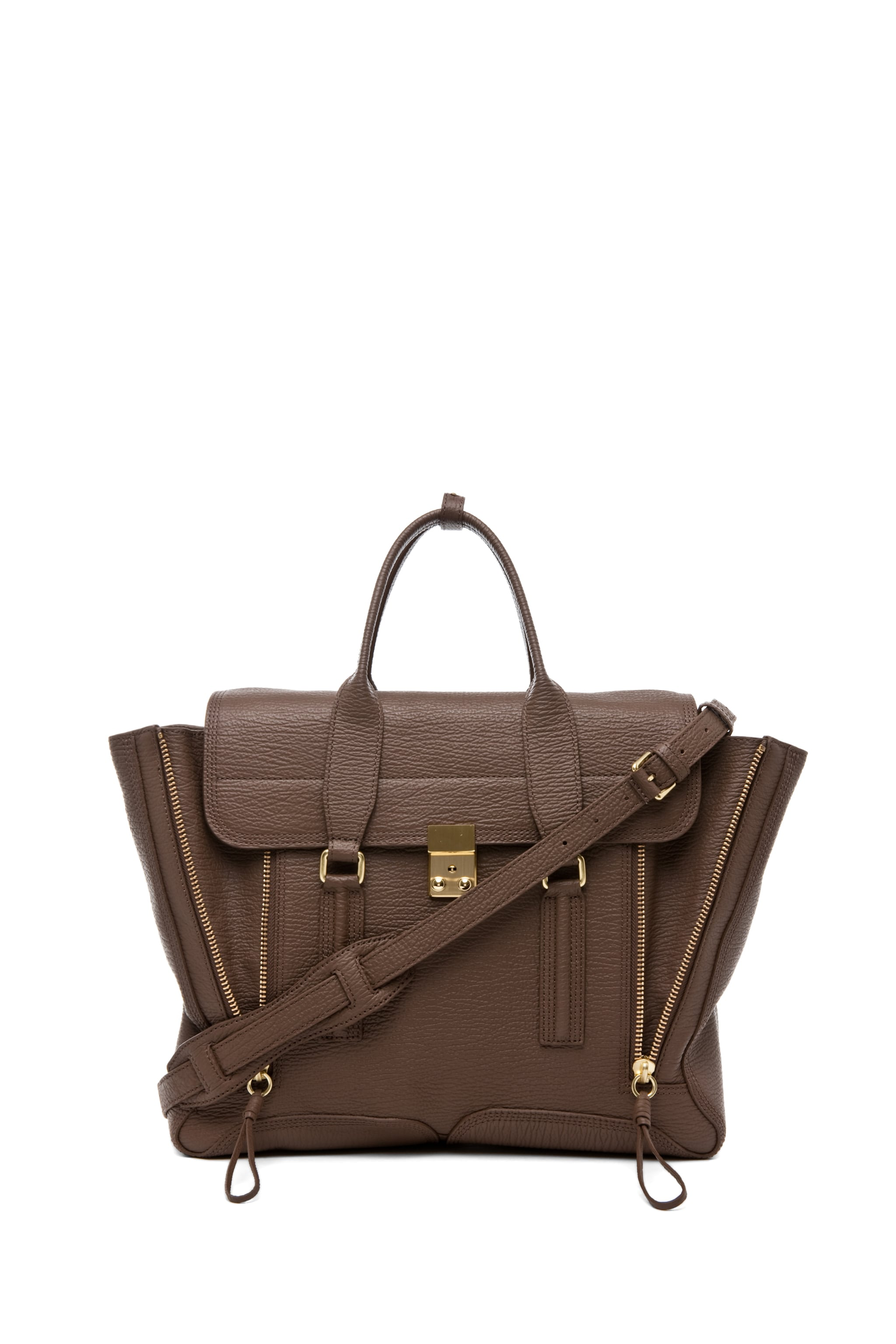 Image 1 of 3.1 phillip lim Pashli Satchel in Taupe