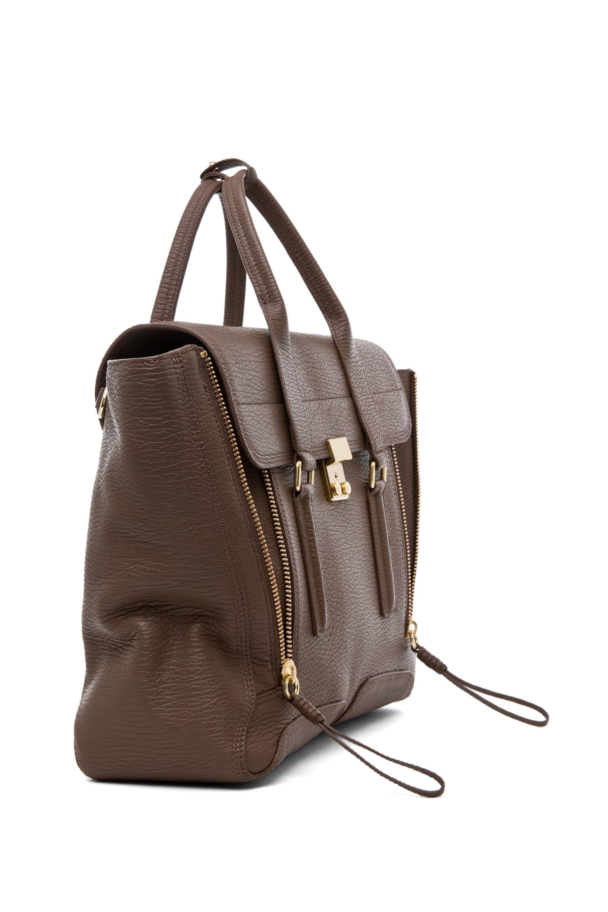 Image 3 of 3.1 phillip lim Pashli Satchel in Taupe
